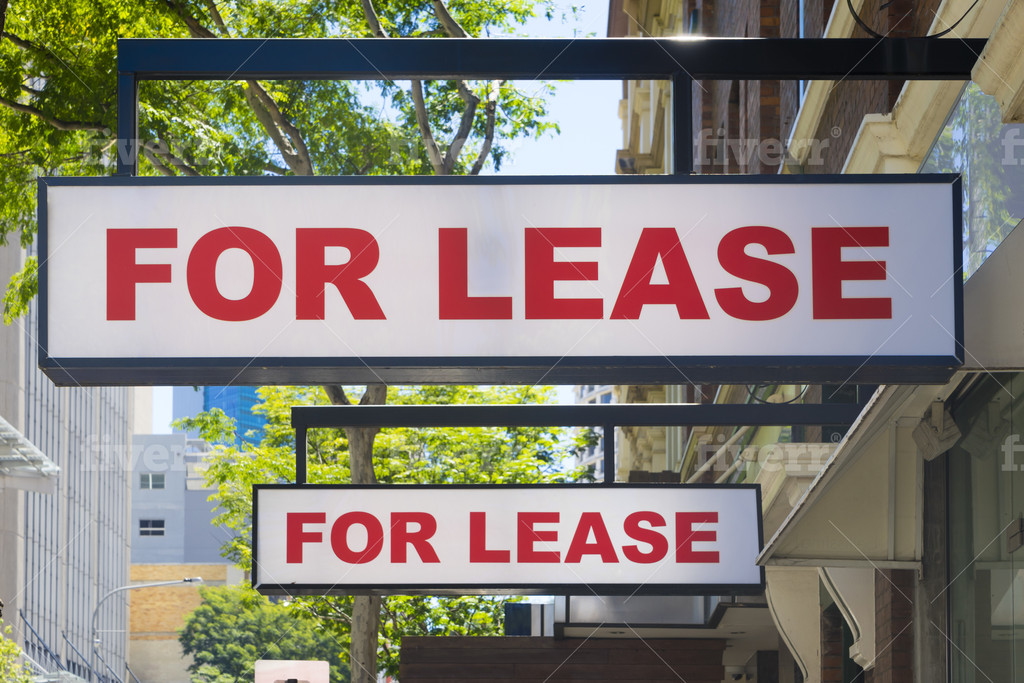Lease Option Signs